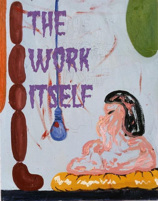 , 'The work itself,' 2002, Galerie Nathalie Obadia