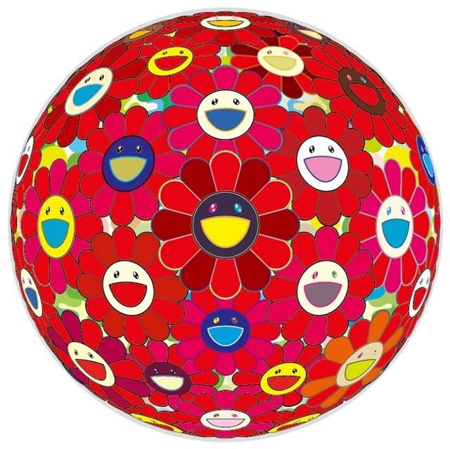 Takashi Murakami, 'Flower Ball: Red 3-D', 2010, MSP Modern