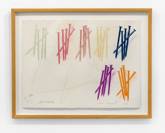 , 'Short Schedule ,' 1972, The Bonnier Gallery