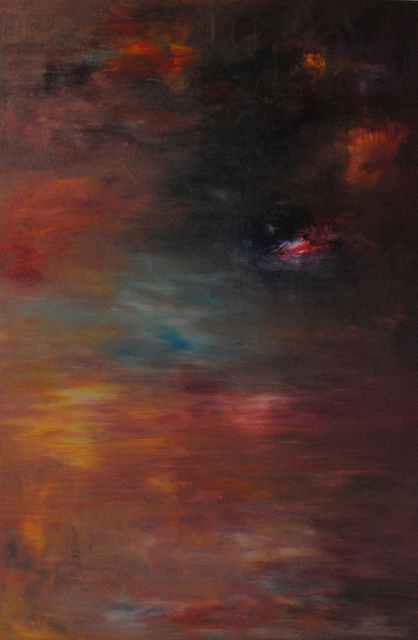 MD Tokon, 'Autumn at the Mountain', 2015, Painting, Acrylic on Canvas, Isabella Garrucho Fine Art