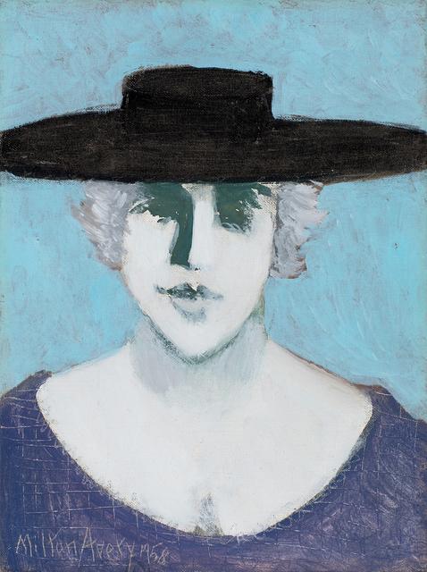 , 'Black Hat,' 1958, Michael Rosenfeld Gallery