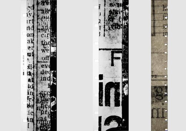 , 'Newsprint,' 2017, Christine Park Gallery