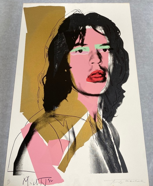 Andy Warhol, 'Mick Jagger F&S II.143', 1975 , Print, Screenprint on Arches Aquarelle (Rough) Paper, Fine Art Mia