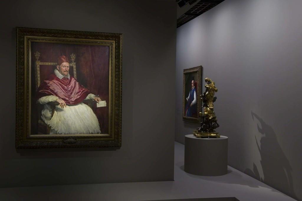 Vue de l'exposition Velázquez 6, scénographie Atelier Maciej Fiszer, © Didier Plowy pour la Rmn-Grand Palais, Paris 2015