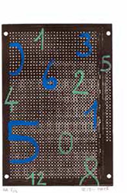 , 'Circuit chiffré 40,' 1995, Galerie Charlot