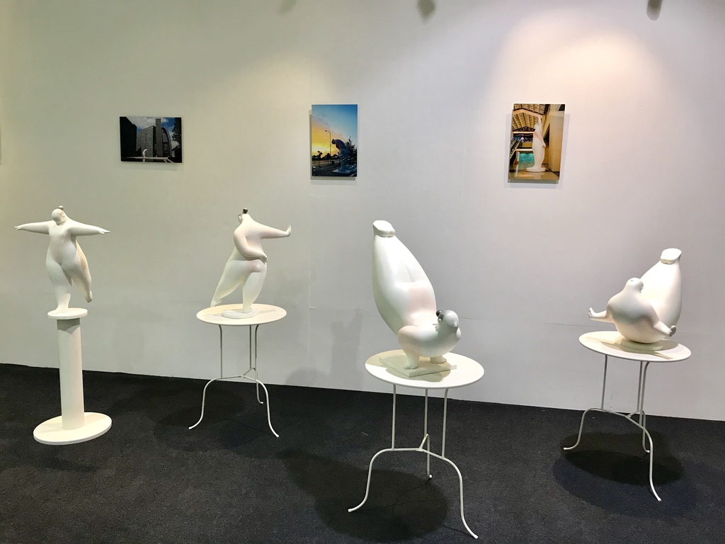 Chinese artist Luo Dan Solo exhibition