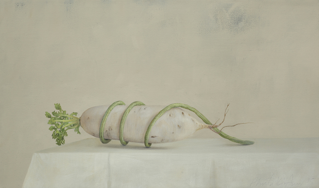 , 'Radish and Longbean,' 2015, Galerie Huit