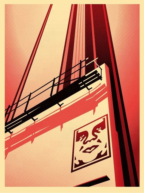 Shepard Fairey (OBEY), 'Sunset and Vine Billboard', 2011, Dope! Gallery