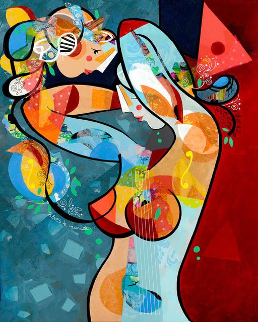 , 'Rêves de mariée (Lacquer),' 2015, Eden Fine Art