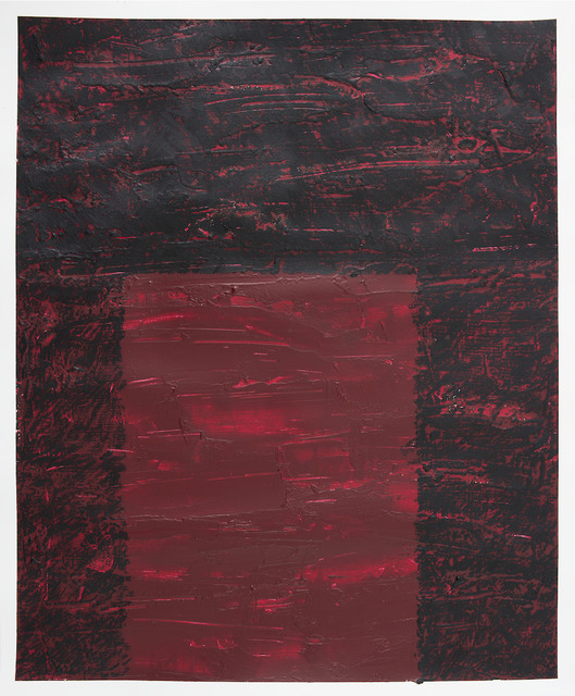 , 'Red Door,' 2016, InLiquid