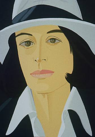 Alex Katz, 'Ada in White Hat (from Alex & Ada portfolio) ', 1990, Print, 38-colour silkscreen, Nikola Rukaj Gallery