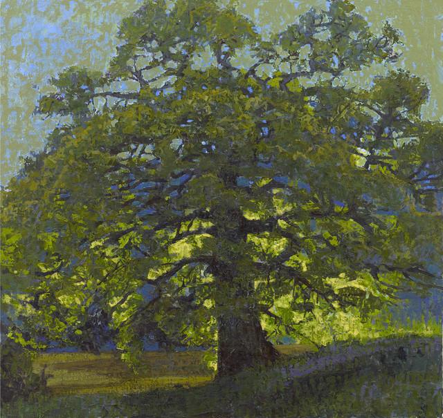 , 'Oak on the River,' 2017, John Martin Gallery