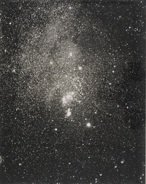 3 PHOTOGRAPHS OF NEBULAE TAKEN FROM THE MT. WILSON OBSERVATORY IN PASADENA, CA. 1917-1919