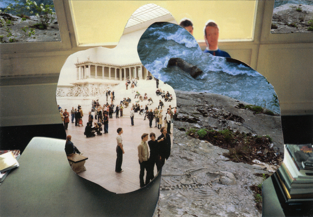, 'Photomontage III, (taken from pages 106, 136, 202),' 2009-2011, ROSEGALLERY