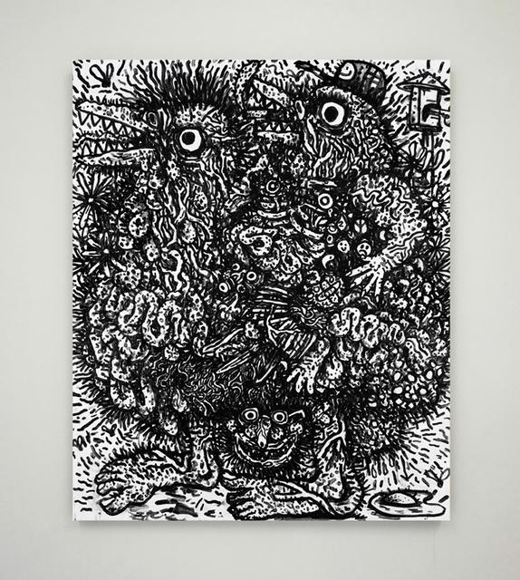 , 'Aing Namah (Bulluckornis planei),' 2015, Blackartprojects
