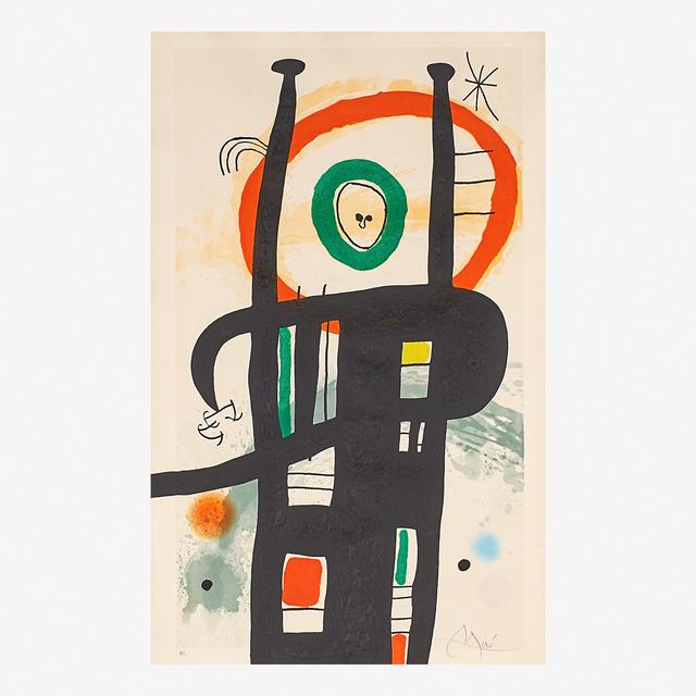 Joan Miró, 'Le Grand Ordinateur', 1969, Rago/Wright
