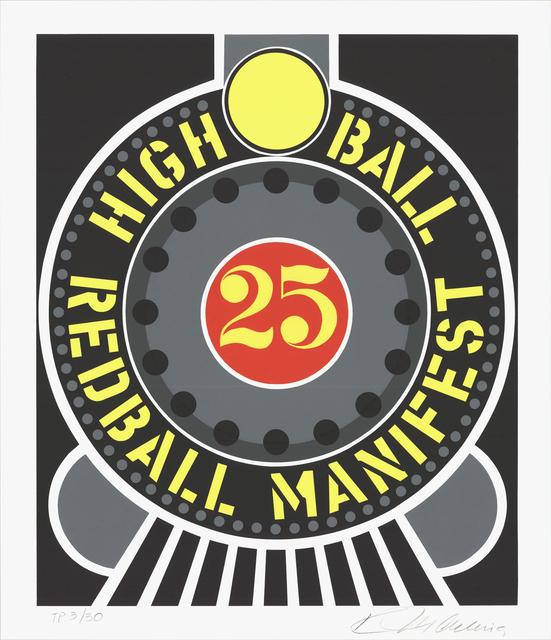 , 'Highball on the Redball Manifest,' 1997, ArtWise