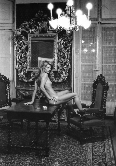, 'Charlotte Rampling at the Hotel Nord Pinus II, Arles,' 1973, Staley-Wise Gallery