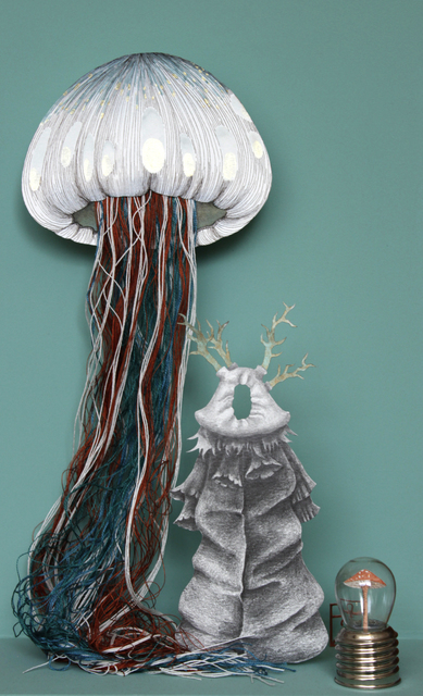 , 'Medusa and Mushroom,' 2018, Beatriz Esguerra Art