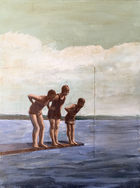 , 'July,' 2017, Sue Greenwood Fine Art