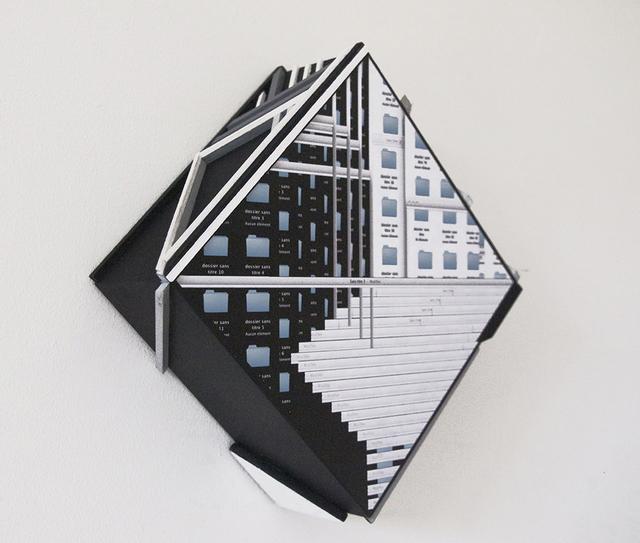 , 'Sound Monotype,' 2014, Jozsa
