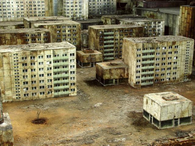 , ' Caspar David Friedrich Stadt (1),' 2009, Jonathan LeVine Projects