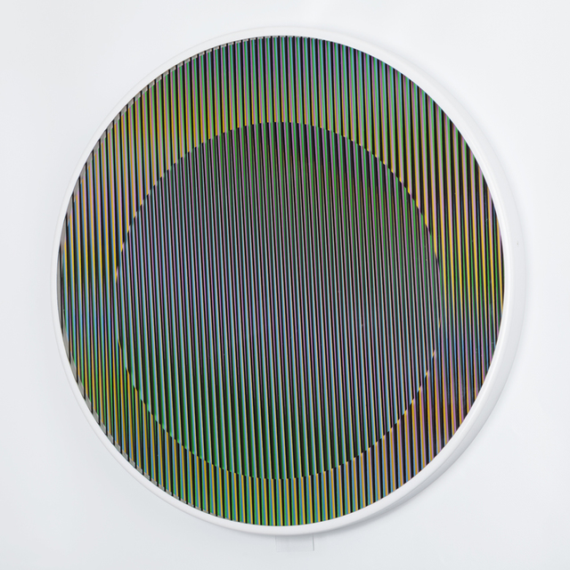 , 'Chromointerference manipulable circulaire,' 2013, gdm