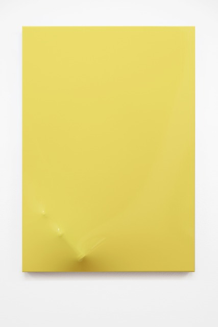, 'Untitled (yellow),' 2015, EXILE