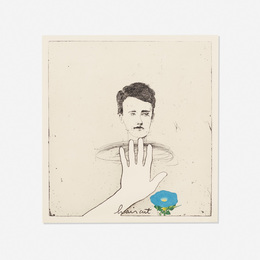 Jim Dine, 'Brown Haircut,' 1972, Wright: Prints + Multiples (January 2017)