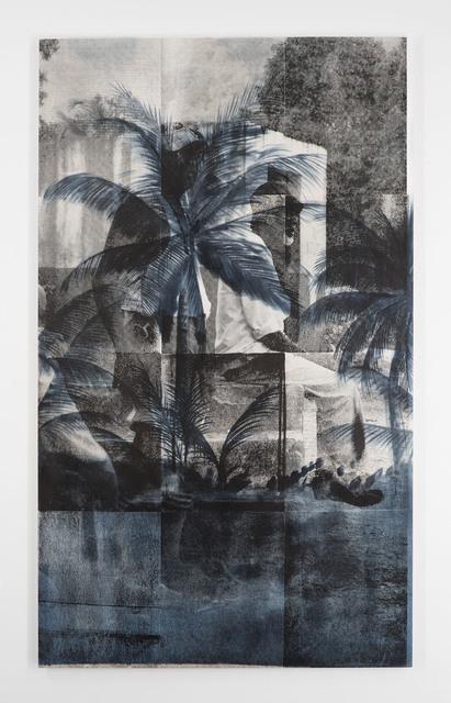 """, 'Grey Area, """"Black but Green with Age"""",' 2017, Luis De Jesus Los Angeles"""