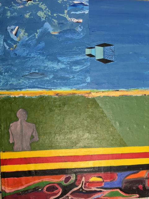 , 'The Creation of Adam,' 2016, Imlay Gallery