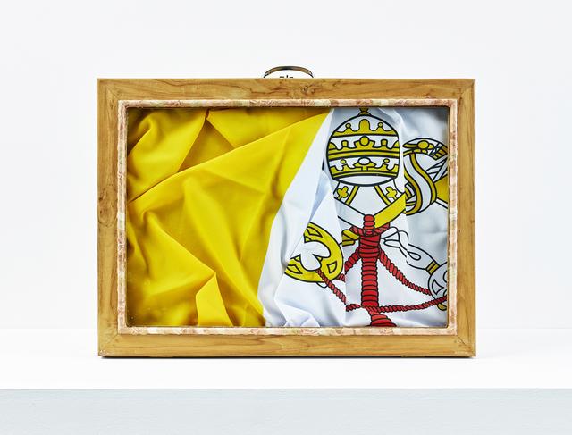 , 'Valise diplomatique (Vatican),' 2017, In Situ - Fabienne Leclerc