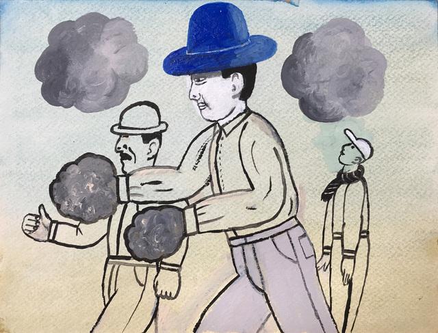 , 'Three Men in Hats,' 2017, Russo Lee Gallery