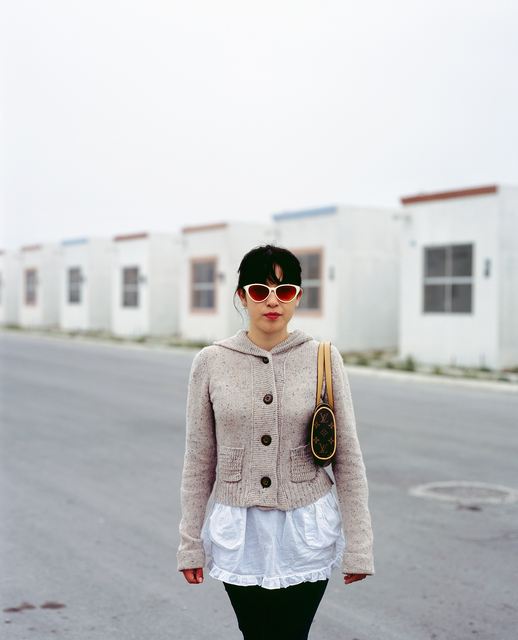 , 'From the series People of Suburbia, Girl coming home to suburb in Juarez from a night out in the city,' 2008, Circuit Gallery