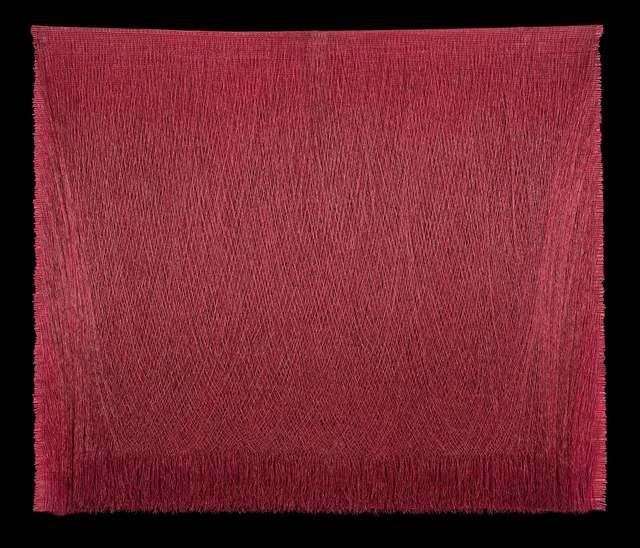, 'Lienzo ceremonial 25 (magenta),,' 1998, La Patinoire Royale / Galerie Valerie Bach