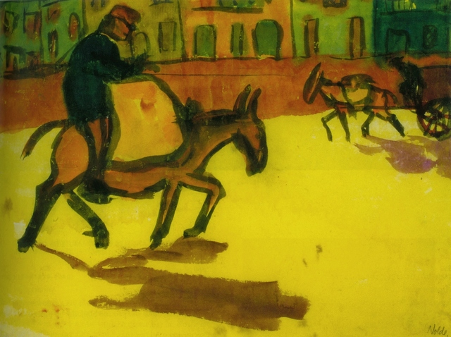 Emil Nolde, 'Granada', 1921, Drawing, Collage or other Work on Paper, Watercolour, Henze & Ketterer & Triebold