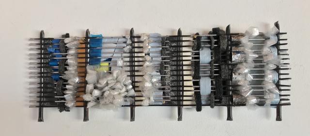 , 'Desert series: fridge coil weaving D,' 2019, Maria Elena Kravetz