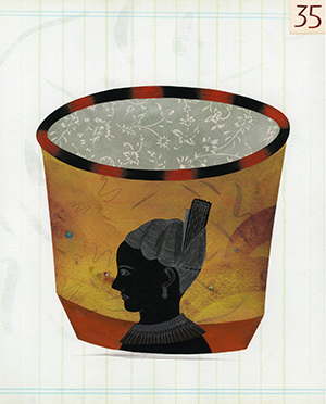 , 'Cup # 35,' 2010, The Schoolhouse Gallery
