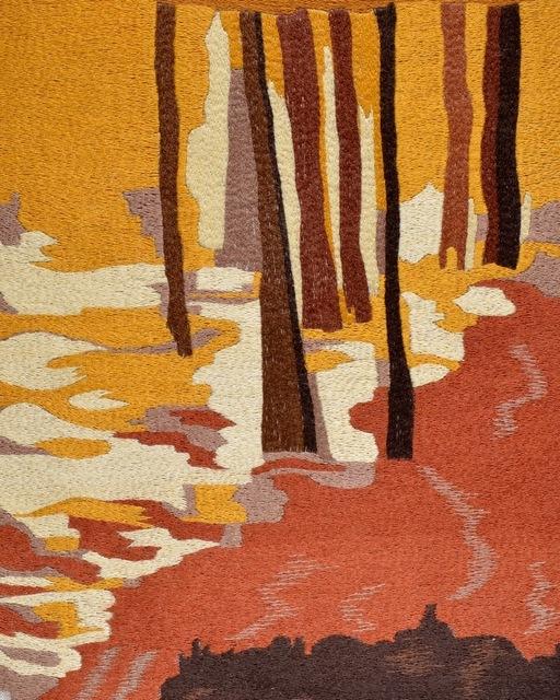Karine Boulanger, 'Josephine', 2015, Textile Arts, Silk on linen embroidery, Spotte Art