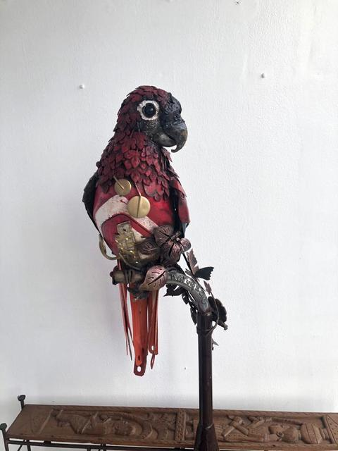 , 'Parrot ,' ca. 2018, Signature Beyond Art Gallery (Nigeria)