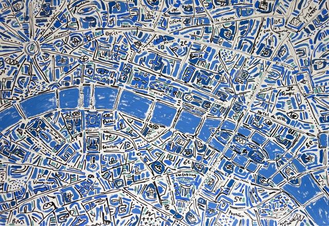 , 'Paris Cobalt Blue ,' 2017, Rebecca Hossack Art Gallery