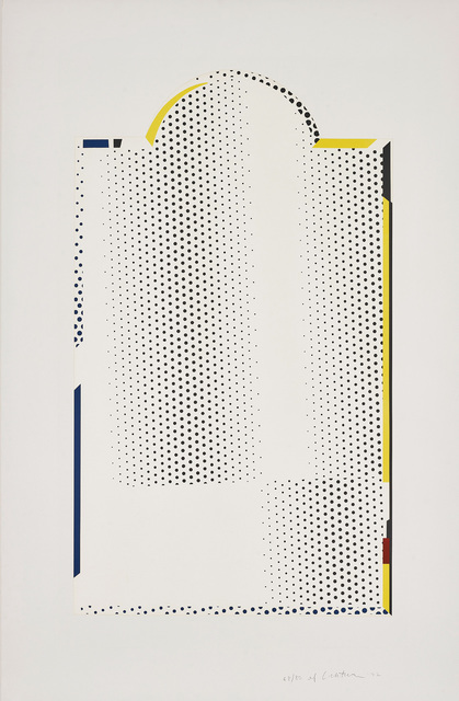 Roy Lichtenstein, 'Mirror #7, from Mirror Series', 1972, Print, Lithograph and screenprint in colours, on Arjomari paper, with full margins., Phillips