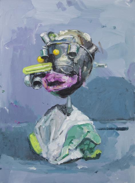 , 'Him,' 2017, Galerie Heike Strelow