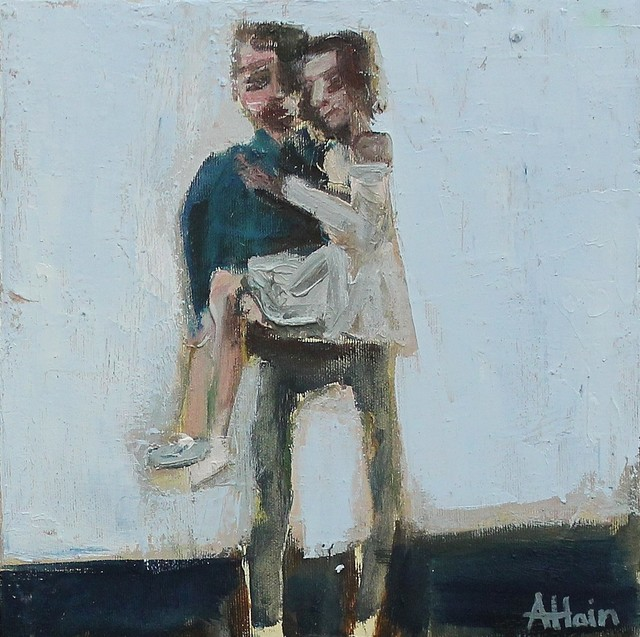 , 'Couple,' 2018, Castlegate House Gallery