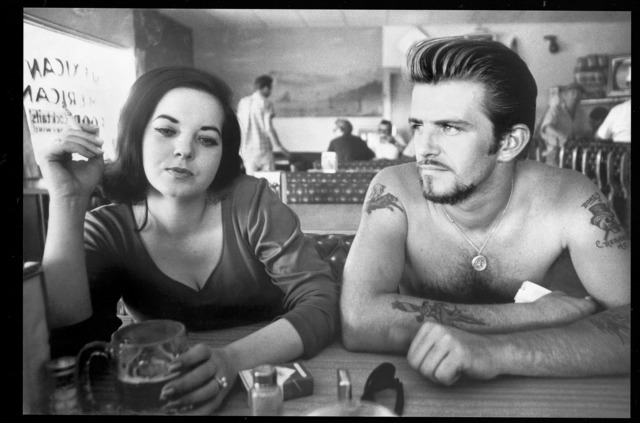 , 'Biker Couple,' 1961, Fahey/Klein Gallery