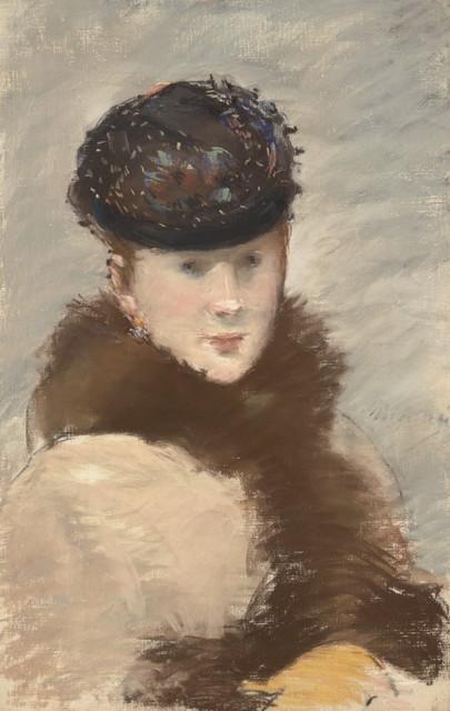 Édouard Manet, 'Méry Laurent Wearing a Small Toque.', 1882, Clark Art Institute