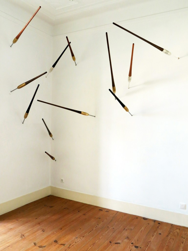 "Exhibition view of Isaque Pinheiro's exhibition ""Memória"", 2014"