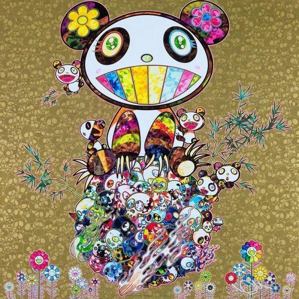 Takashi Murakami, 'Panda Family Gold', 2016, Artsnap