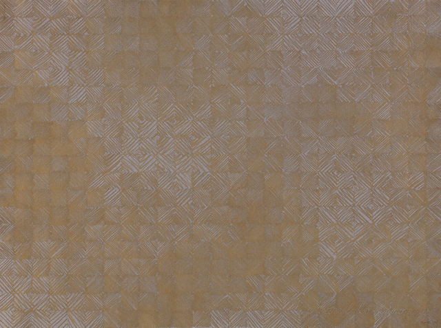 , 'Gold Grid (961222-B),' 1996, Heather Gaudio Fine Art