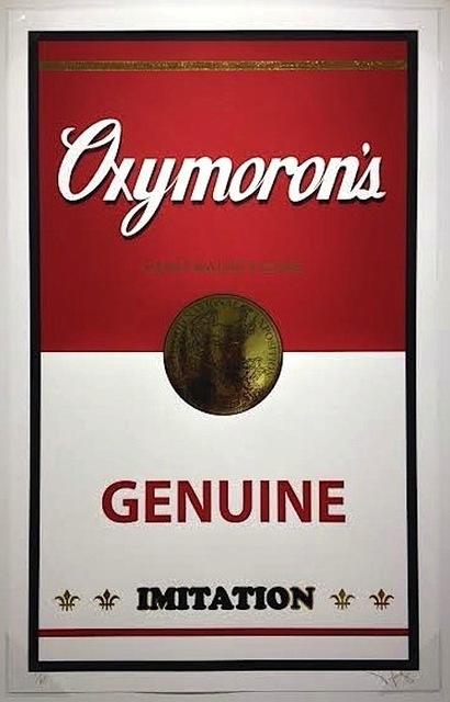 PlasticGod, 'Oxymoron's (Genuine Imitation)', 2014, Vertu Fine Art